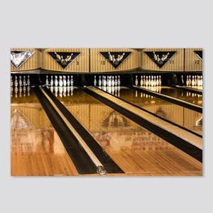 The Bowling Alley Postcards (Package of 8)