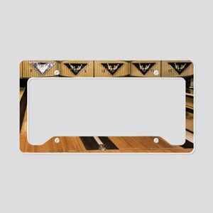 The Bowling Alley License Plate Holder