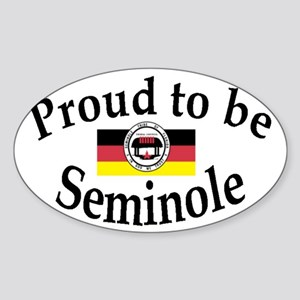 Seminole Oval Sticker