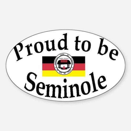 Seminole Oval Decal