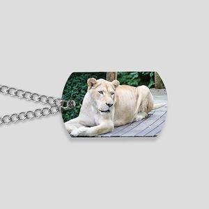 White Lion Dog Tags