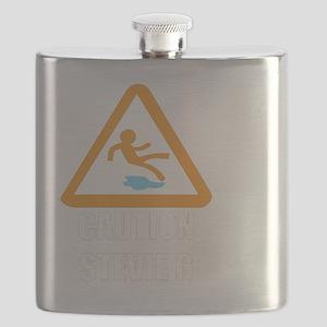 Caution stevie g Flask