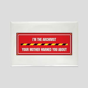 I'm the Archivist Rectangle Magnet