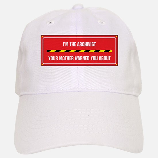 I'm the Archivist Baseball Baseball Cap