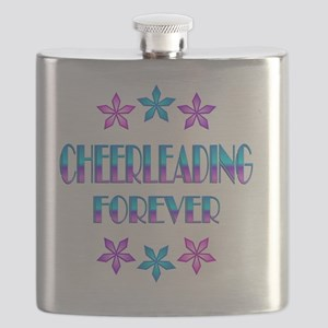 Cheerleading Forever Flask