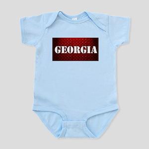 Georgia Diamond Plate Design Body Suit