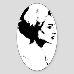 Madame Sticker (Oval)