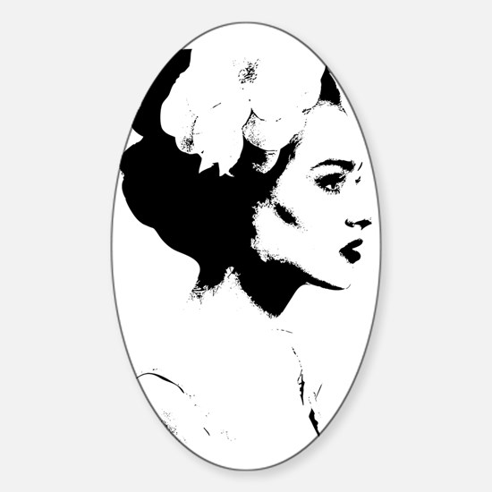 Madame Sticker (Oval)