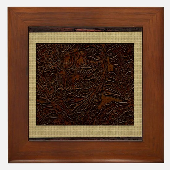 Western Pillow 8 Framed Tile