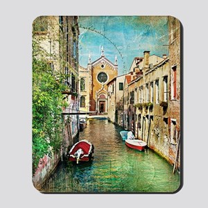 Vintage Venice Photo Mousepad