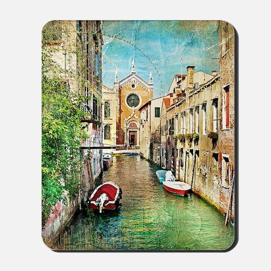 Vintage Venice Photo Mousepad