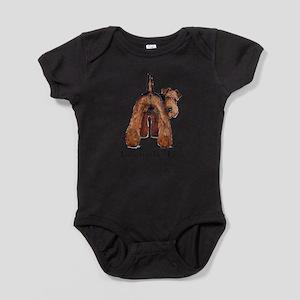 Airedale Terrier Talk Infant Bodysuit Body Suit