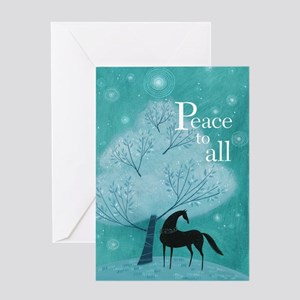 'Peace To All' Greeting Card