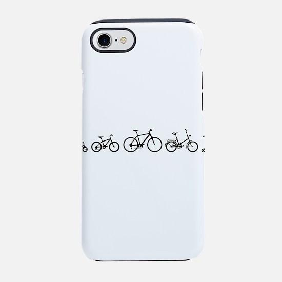Bicycle Evolution Shirt iPhone 7 Tough Case