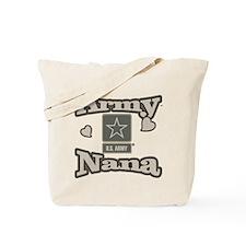 Army Nana Tote Bag