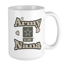 Army Nana 15 oz Ceramic Large Mug