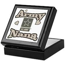 Army Nana Keepsake Box