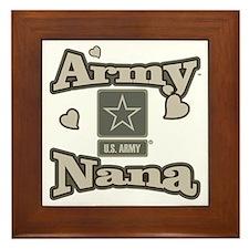 Army Nana Framed Tile