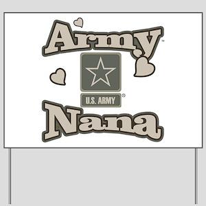 Army Nana Yard Sign