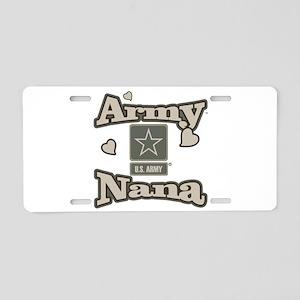 Army Nana Aluminum License Plate