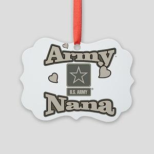Army Nana Picture Ornament