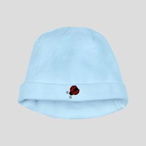 Red Ladybug 1 baby hat