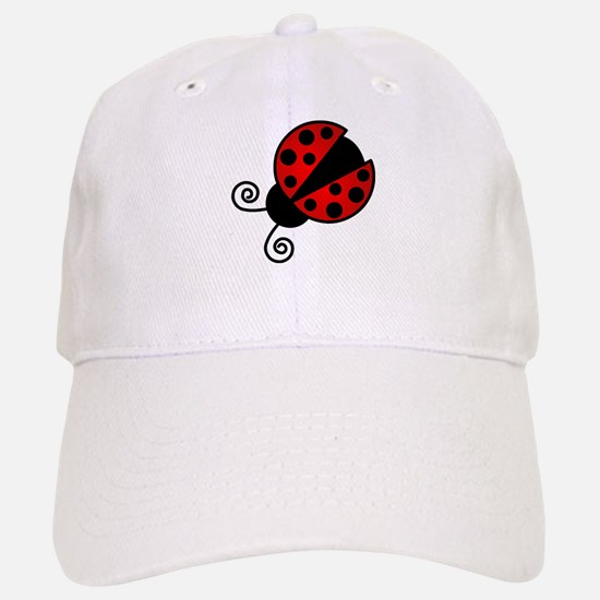 Red Ladybug 1 Baseball Baseball Baseball Cap
