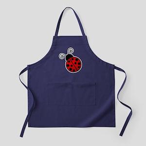 Red Ladybug 1 Apron (dark)