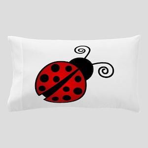 Red Ladybug 1 Pillow Case