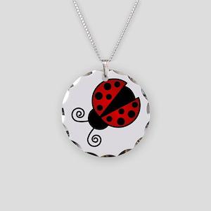 Red Ladybug 1 Necklace