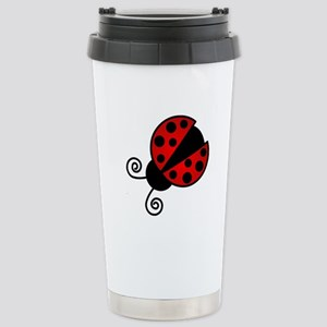 Red Ladybug 1 Travel Mug