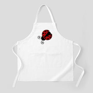Red Ladybug 1 Apron