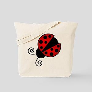 Red Ladybug 1 Tote Bag