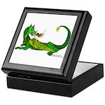Flamin' Green Dragon Keepsake Box