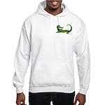 Flamin' Green Dragon Hooded Sweatshirt