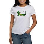 Flamin' Green Dragon Women's T-Shirt