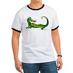 Flamin' Green Dragon Ringer T