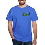 Flamin' Green Dragon Dark T-Shirt