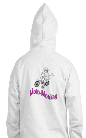 Moto Monkey Jumper Hoody