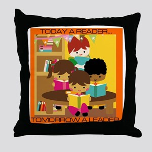 Reader to Leader Throw Pillow