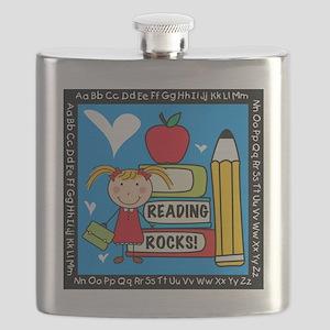 Reading Rocks Flask