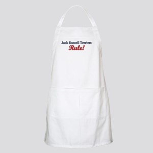 """Jack Russells Rule!"" BBQ Apron"