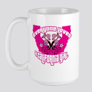 California Girl Large Mug