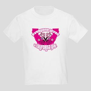 California Girl Kids Light T-Shirt