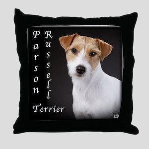 Parson Russell Terrier- JRT Throw Pillow