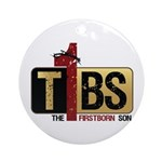 The Firstborn Son w/ words Ornament (Round)