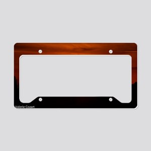 Sunset Red (Large) License Plate Holder
