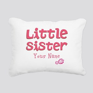 Cute Little Sister Rectangular Canvas Pillow