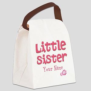 Cute Little Sister Canvas Lunch Bag