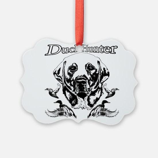 Duck Hunter Labrador Ornament